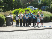 "Goodly Dale School Children saying ""Thank you"" for reducing speed."
