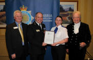 PCSO of the Year 2010 Sarah Blacow